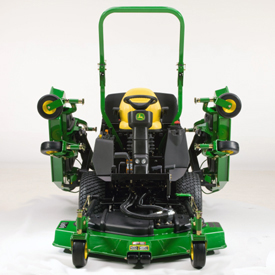 WAM front view with side mowers raised