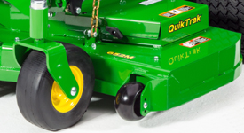 QuikTrak 652M mower deck reinforcement