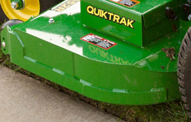 QuikTrak 652R mower deck reinforcement