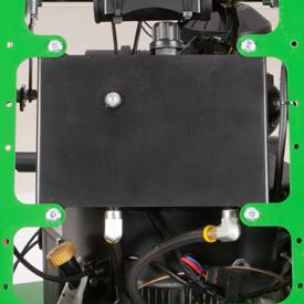 Transmission fluid oil reservoir