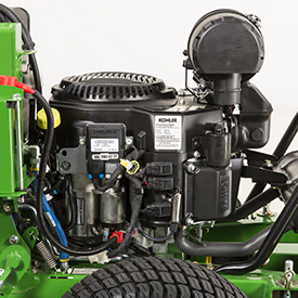 Engine equipped with electronic fuel injection