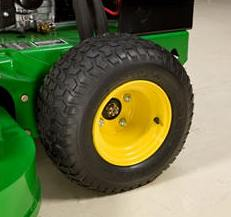 Mower drive wheel on WH48A and WH52A