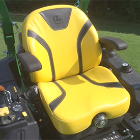 Fully-adjustable, mechanical suspension-seat option