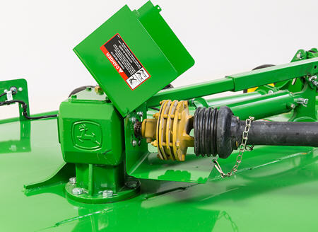 Slip clutch protects drivetrain from high loads of torque