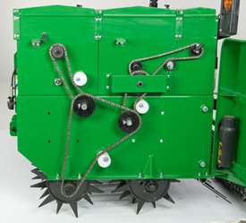 Spiked rollers for perfect seed-to-soil contact