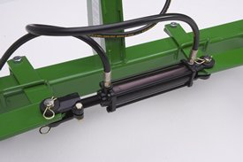 The hydraulic kit creates ease for the operator
