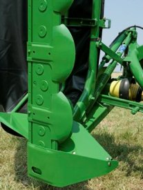DM12 Series Disc Mower steel guards