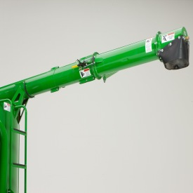 The 0.9-m (3-ft) unloading auger extension