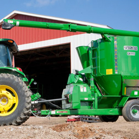 The 1.8-m (6-ft) unloading auger extension