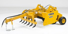 LL13 Drawn Box Scraper's hydraulic scarifier teeth