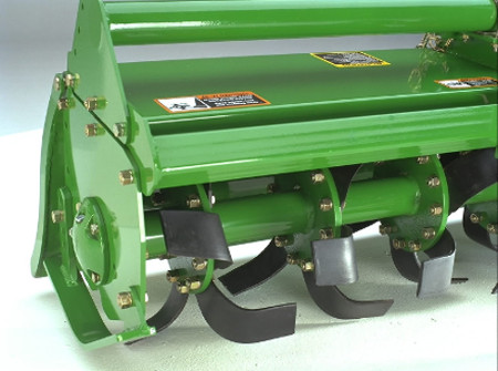 C-shaped tines increase efficiency