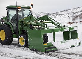 AS11E Series Snow Push