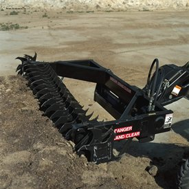 SD1096 for shaving a couple of inches (mm) of silage