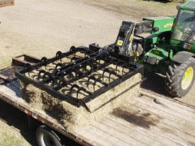 MJ4074 is perfect for handling small square bales