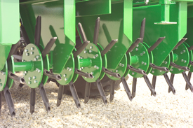 Two per rotor increases wear life