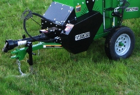 WC1208 Wood Chipper with pull-type hitch