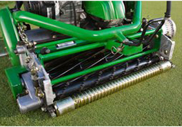 Standard rotary turf brush