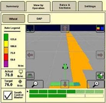 John Deere Section Control