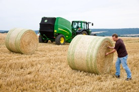 1.21 m (4 ft) width bales = more volume