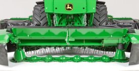 131 Mower-Conditioner cutterbar (shields raised for visibility)