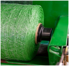 Plugs for Edge-to-Edge surface wrap in a CoverEdge baler