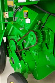 Cutout clutch protected feeder drive chain