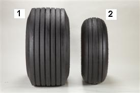 High-flotation tires