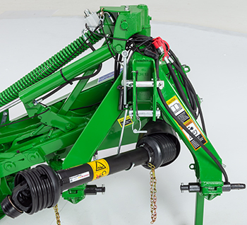 Easy-to-attach 3-point hitch