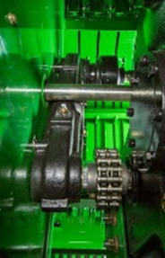 Gear and shaft driveline