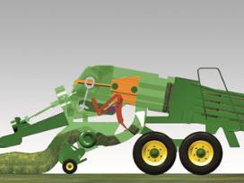 L340 Large Square Baler New Cbell Tractor Pany. 2 One Pression Stroke Pleted. John Deere. John Deere 466 Round Baler Wiring Harness At Scoala.co