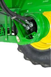 Dual speed wheel motor