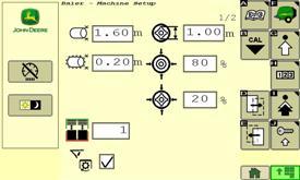 Bale or soft core density adjustments