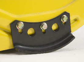 Adjustable skid shoe
