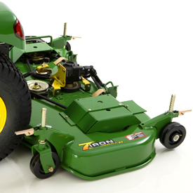 Discontinued 60 In 7 Iron Deep Deck Mower Delivers