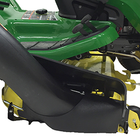 The 42 In 107 Cm Accel Deep 42a Mower Deck Cuts