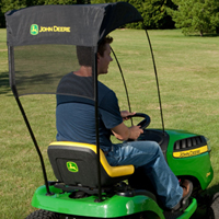 Rear CargO Mounts Front CargO Mounts Sun canopy is mounted with CargO Mounts : john deere canopy for lawn tractor - memphite.com