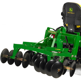 iMatch Quick-Hitch with 3-Point Hitch Disk Harrow