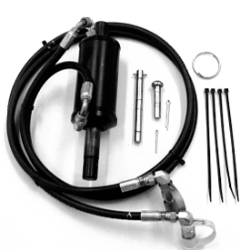Hydraulic angling kit