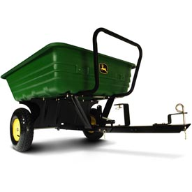 8Y Convertible Poly Utility Cart, tow-behind mode