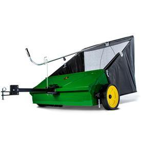44英寸。(112-cm)草坪清扫机