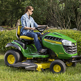 S240 with Accel Deep Mower