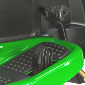 Hydro/automatic foot control pedals