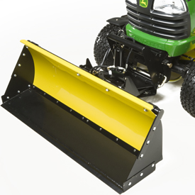 Tractor shovel installed on 54-in. (137-cm) Front Blade