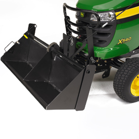 40-in. (102-cm) Tractor Shovel (with optional brush guard)