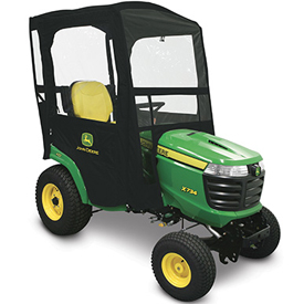 Weather enclosure for Signature Series Tractors