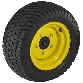 18x8.50-10, 4 PR turf tire shown
