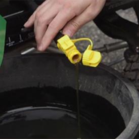 Oil drain hose