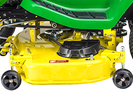 Accel Deep 48A Mower Deck (shown on X300 Series Tractor)