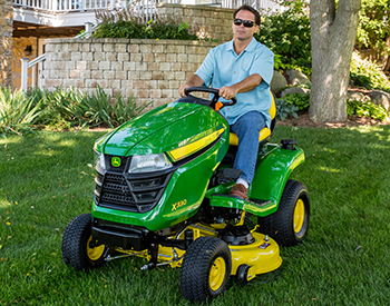 X350 Tractor with Accel Deep Mower