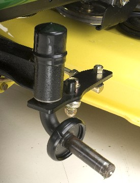 Steering spindle (X570 shown)